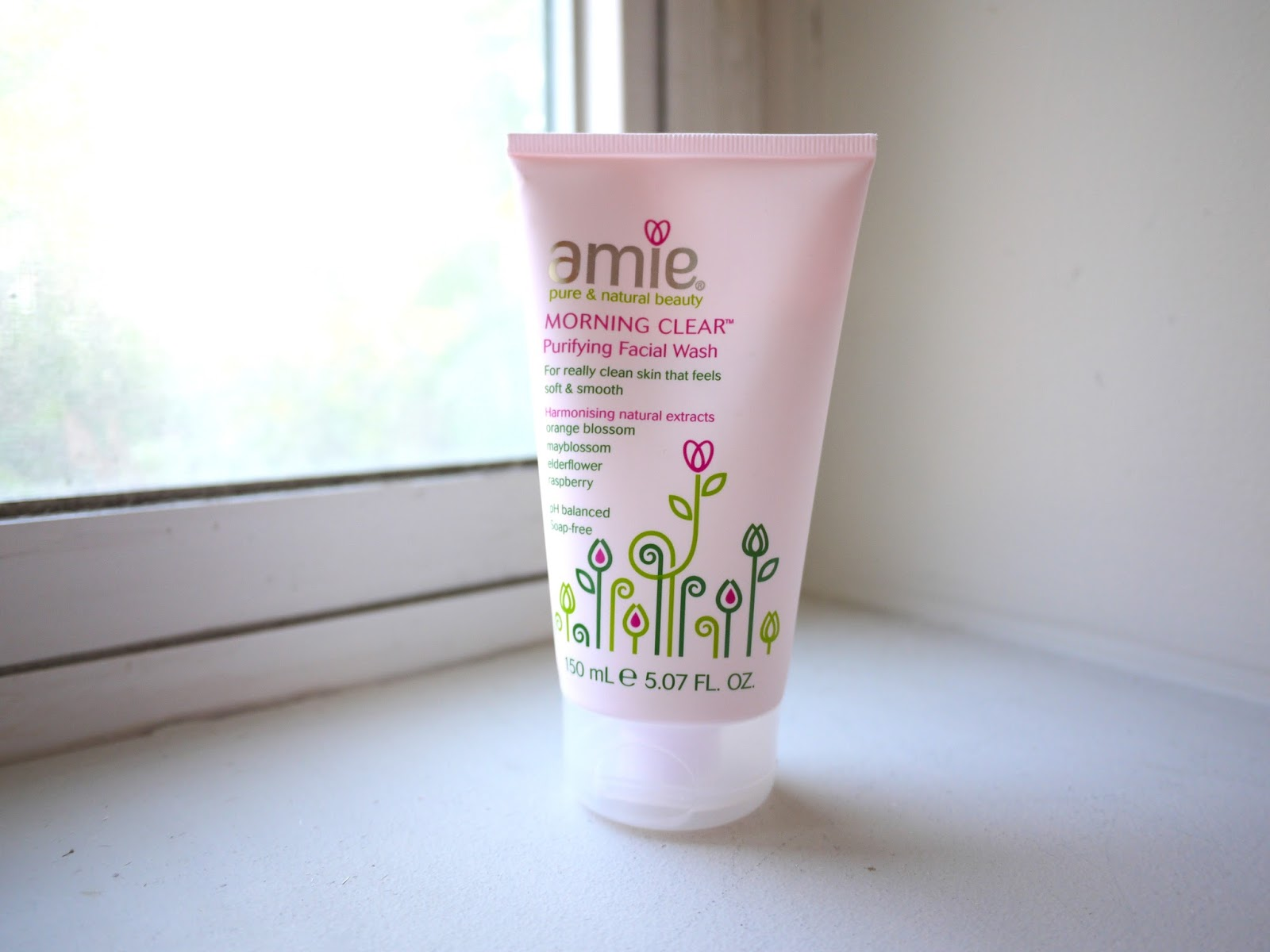 amie skincare morning clear purifying facial wash new bloom gentle facial cleansing wipes review