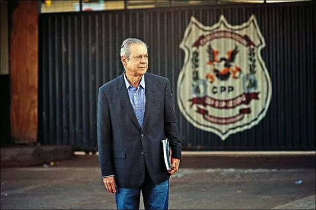 Dirceu's first day of work.