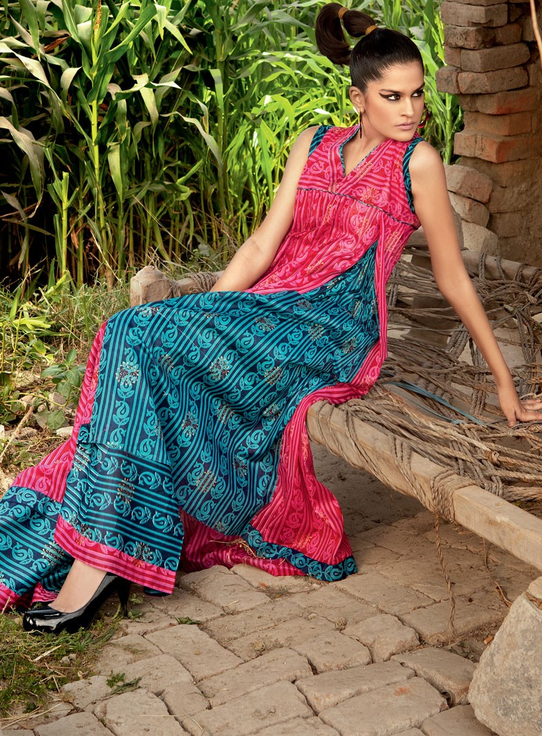 Lawn Collection New Look by Gul Ahmed