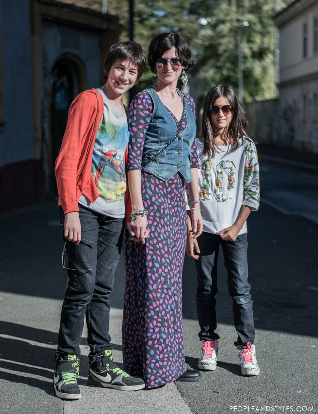 Vesela obitelj Veselica - Ante, Sanela i Ana
