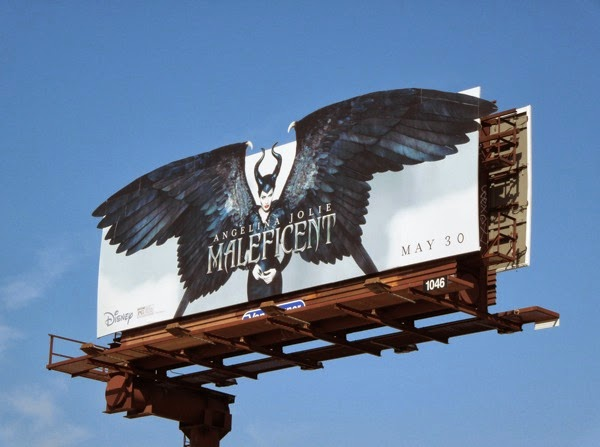 Maleficent special extension movie billboard