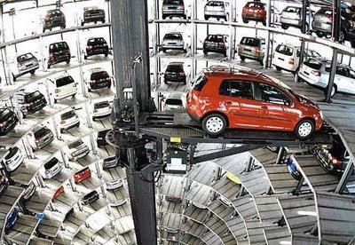 Tempat parkir mobil yang Luarbiasa