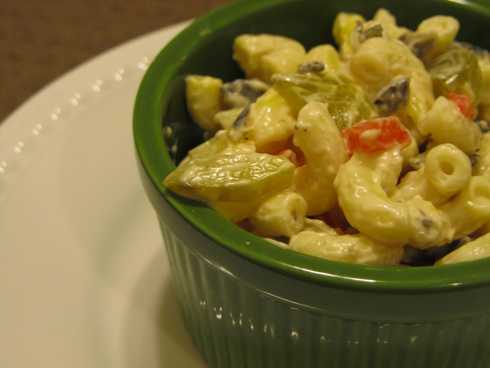 Enter: the best macaroni salad ever.