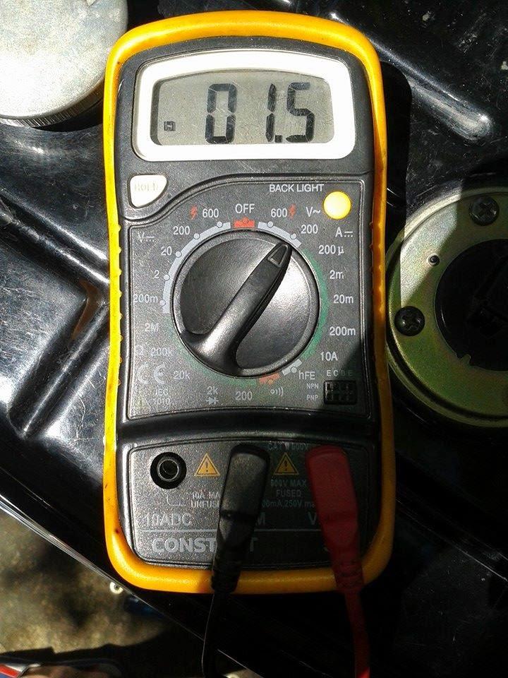 Pemasangan Output Pulser  U0026 Baterai Suzuki Shogun 125