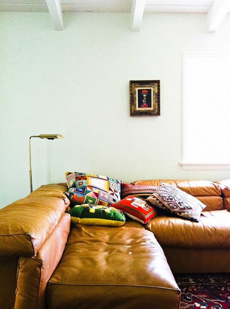Vintage+corner+sofa