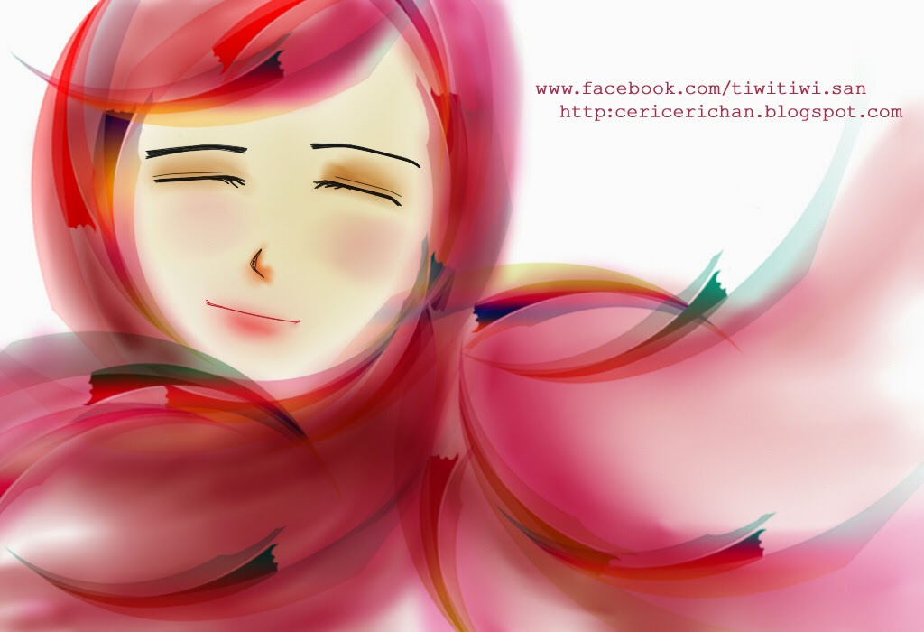 girl, spring, paint tool SAI, wallpaper, cute, photoshop, falling, love
