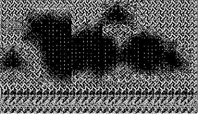 pixel art, macpaint, old school, B/W, computer art, UNTITLED 12
