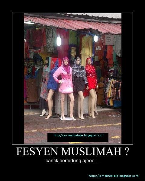 FESYEN MUSLIMAH ?