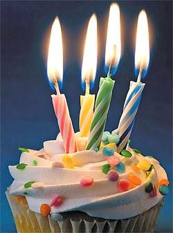Parabéns aos 4 anos de blog