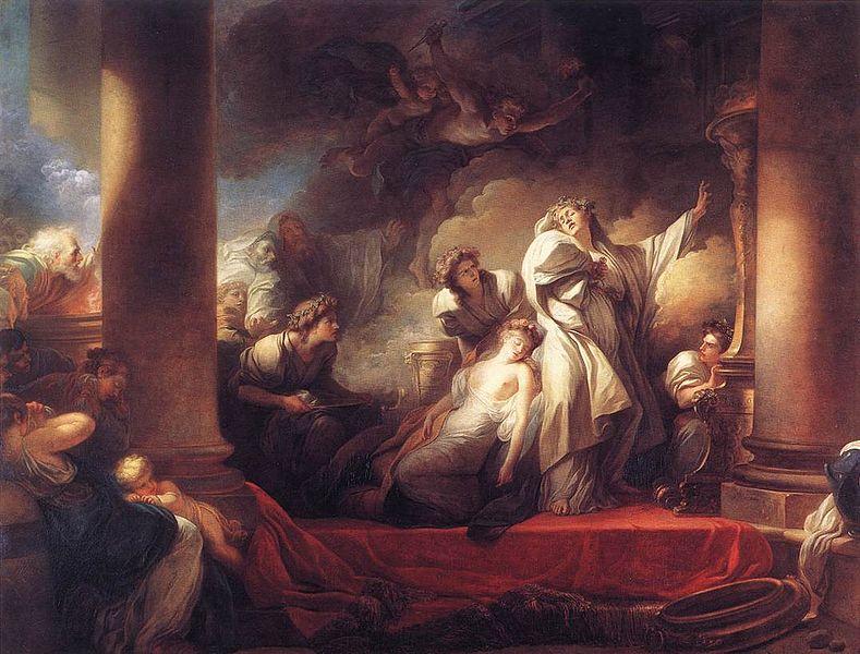 Žan Onore Fragonar  - Page 2 Fragonard_coresus_sacrificing_himselt_to_save_callirhoe