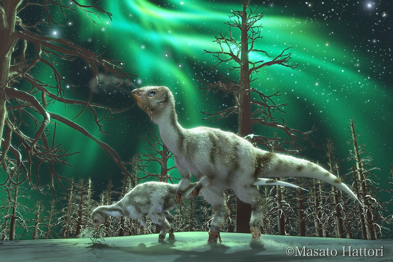 furred polar brrrrs leaellynasaura