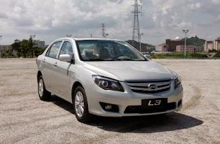 سيارة BYD L3 2015 الجديدة الصينى