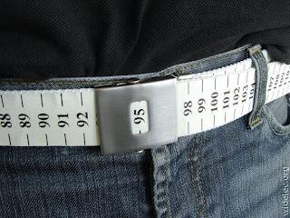 Forma simples controlar medida cintura