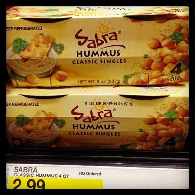 Vegan Vegetarian Food Snacks Lunch Box Target Sabra Hummus Singles Individual Packs