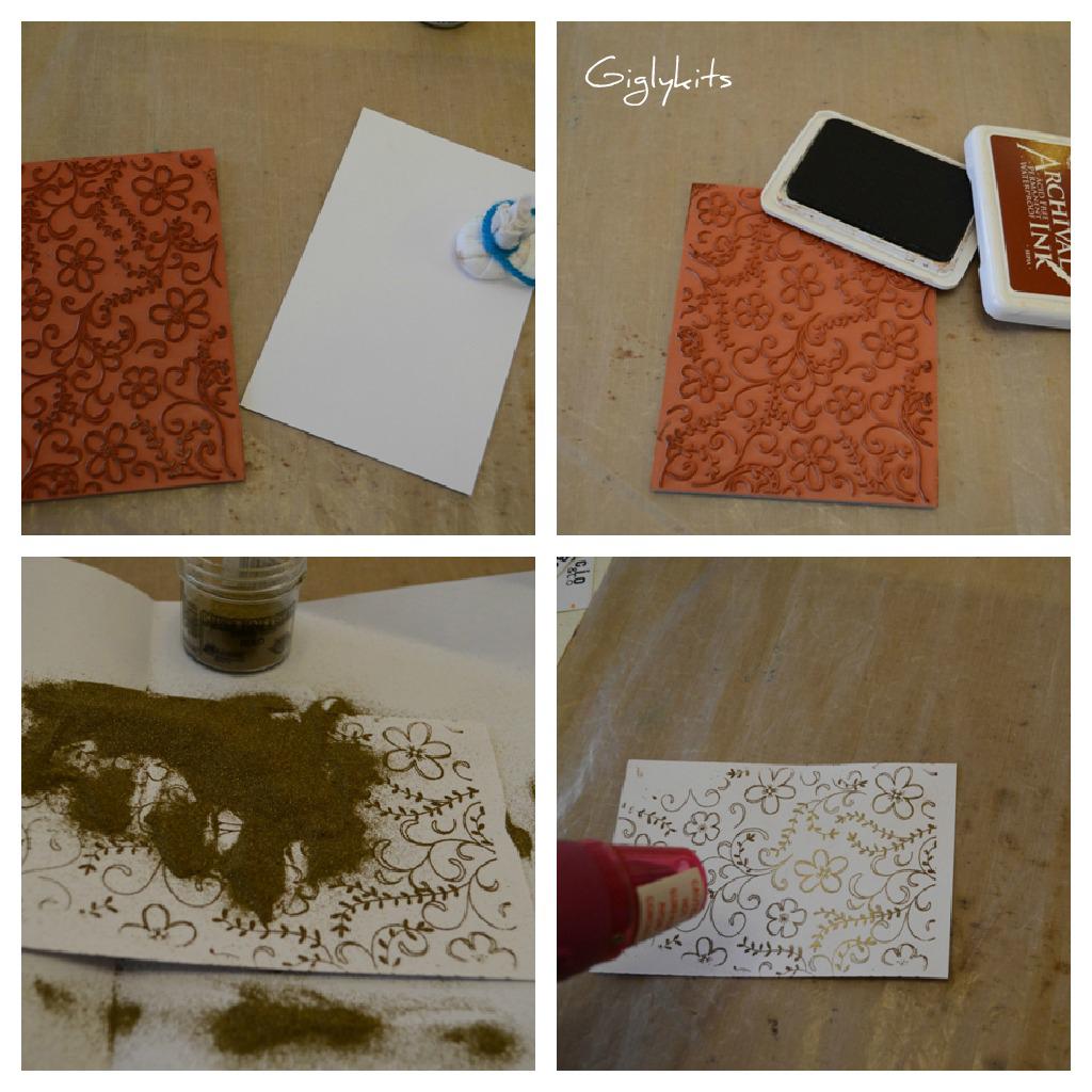 Tutorial tarjetas de navidad manualidades cemzoo - Tarjeta de navidad manualidades ...