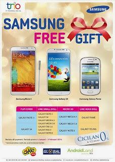 Samsung Free Gift Promo