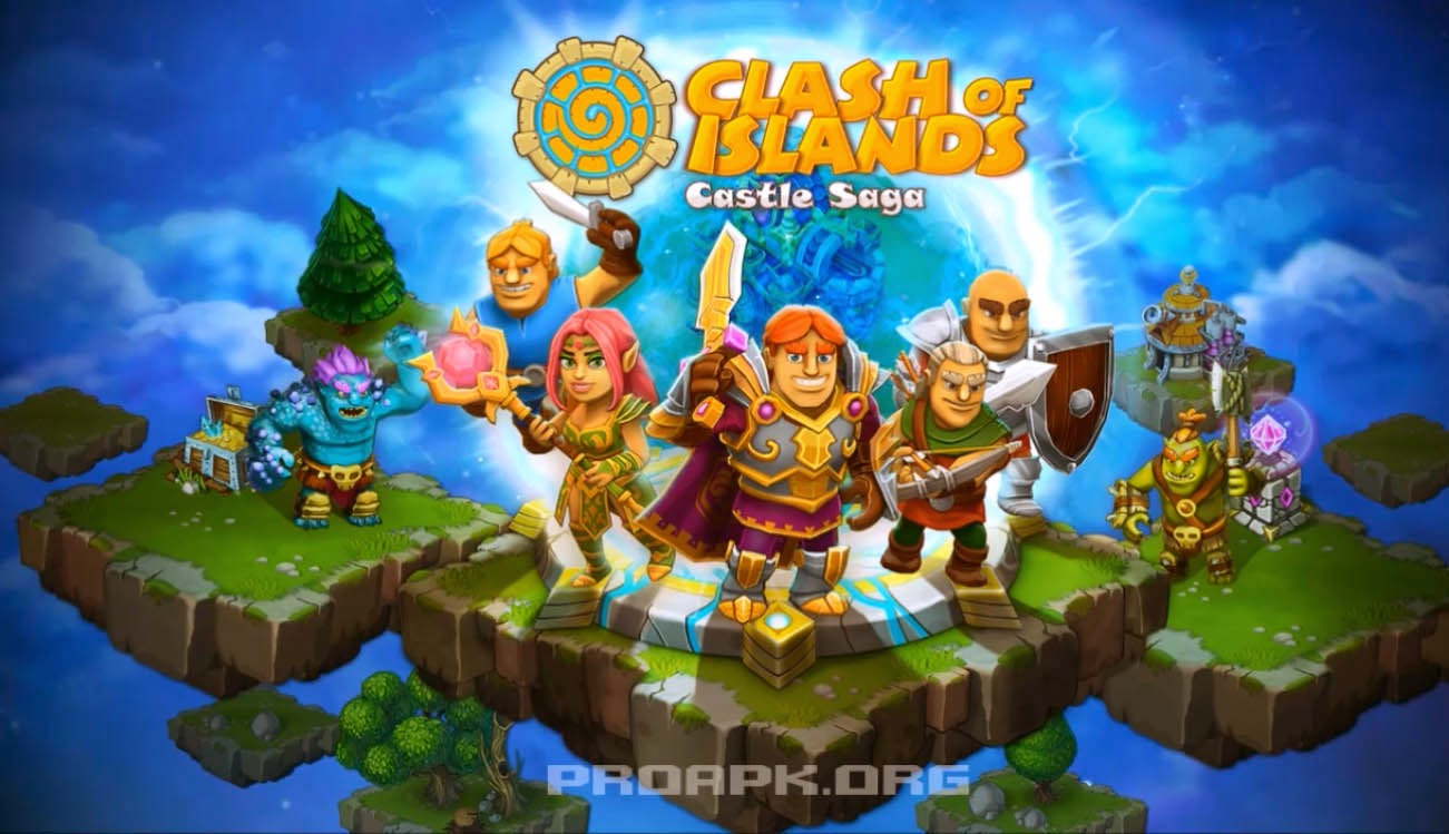 Clash of Islands Gameplay IOS / Android