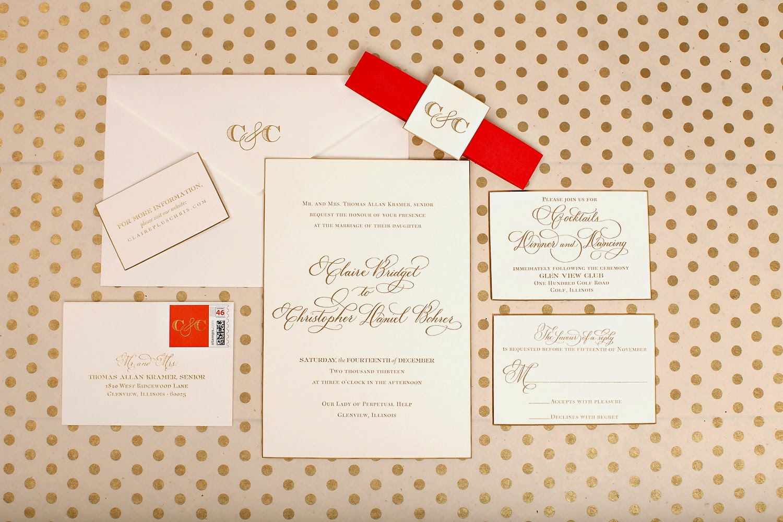 Calligraphy Wedding Invitations ⋆ Nico and Lala