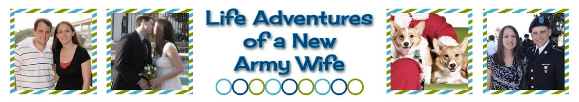 Life Adventures of a New Army Wife