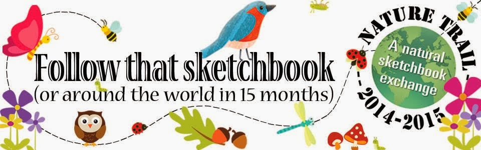 Follow that sketchbook... Around the world in 15 months!