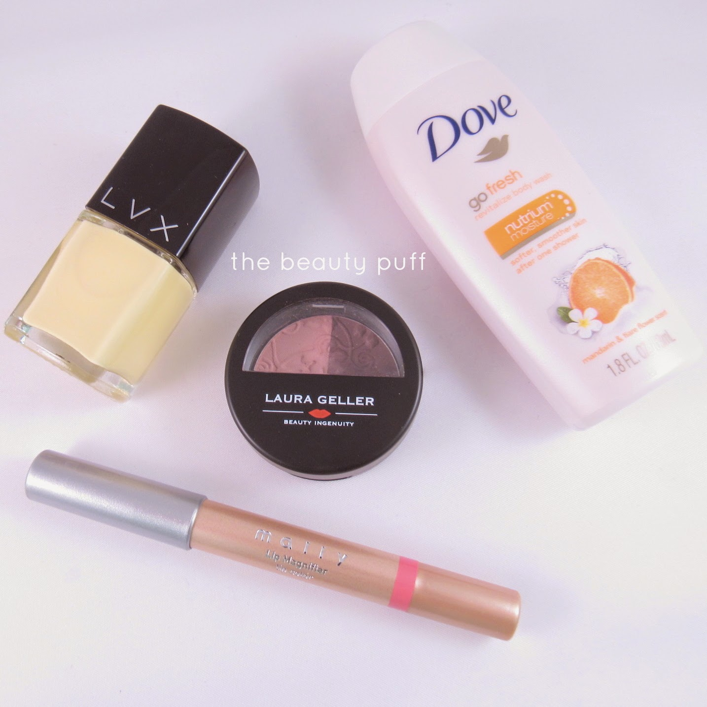 beauty box favorites march - the beauty puff