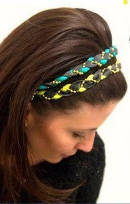 Atasi bad hair day dengan elastic ribbon headband