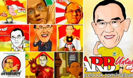 Peserta Lomba Avatar Abu Rizal Bakrie