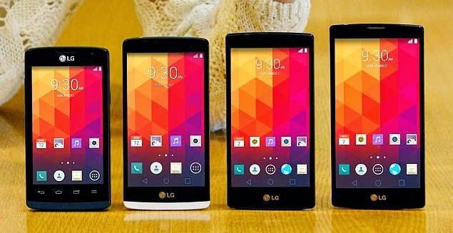 Jajaran Smartphone LG Terbaru Lolipop 4G LTE