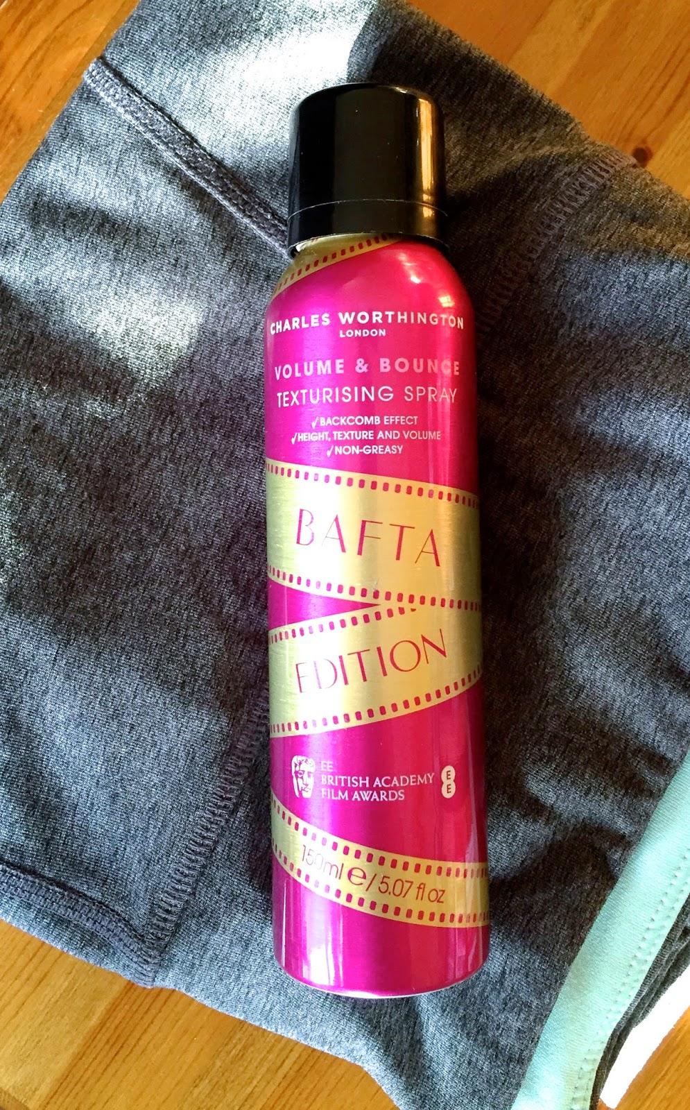 charles worthington, oribe dupe, february favourites, volume and bounce texturising spray