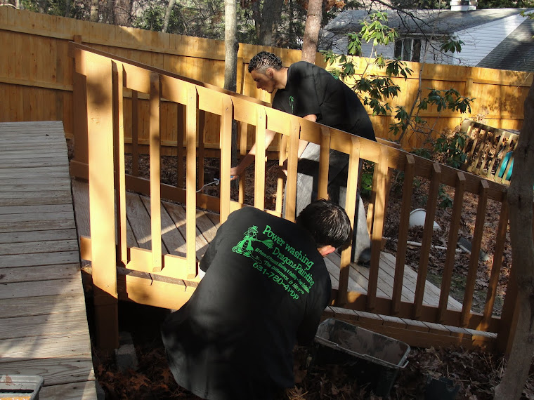 We can deck out your decks,  repairs, stripping, washing,staining, Long Island NY