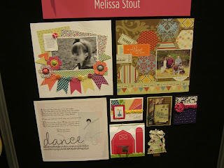 Stampin' Up! Convention 2012 Display boards