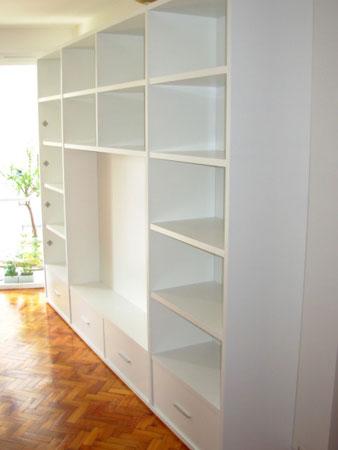 Amoblamiento integral para el hogar dise o de muebles - Muebles estanterias modulares ...
