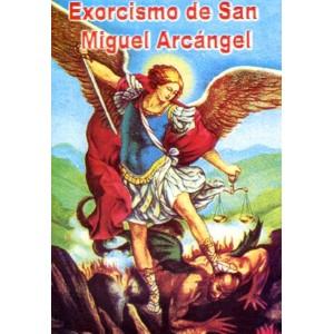 EXORCISMO DE SAN MIGUEL ARCANGEL