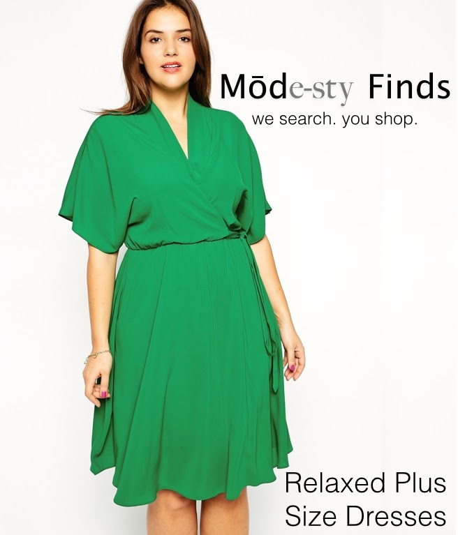 Mode-sty: Chill Out: Relaxed Plus Size Finds