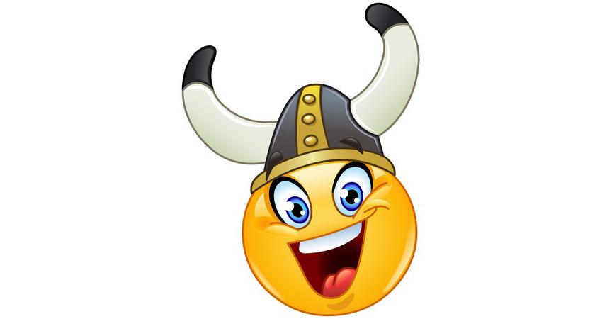 viking smiley