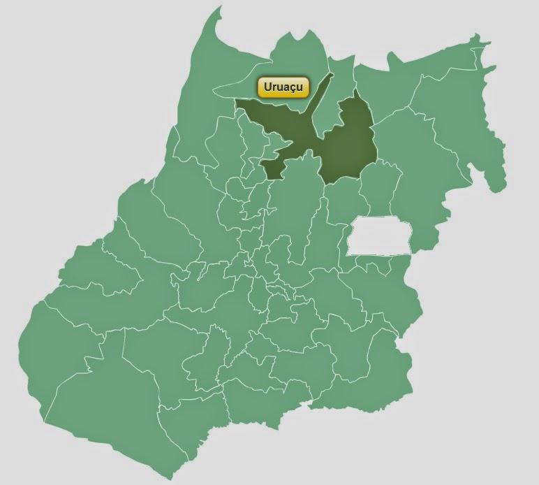 Localização da SRE