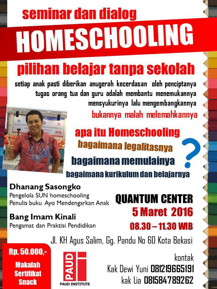 Seminar Homeschooling
