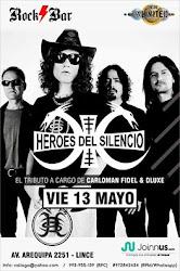 TRIBUTO A HEROES DEL SLENCIO - VIE 13 MAYO