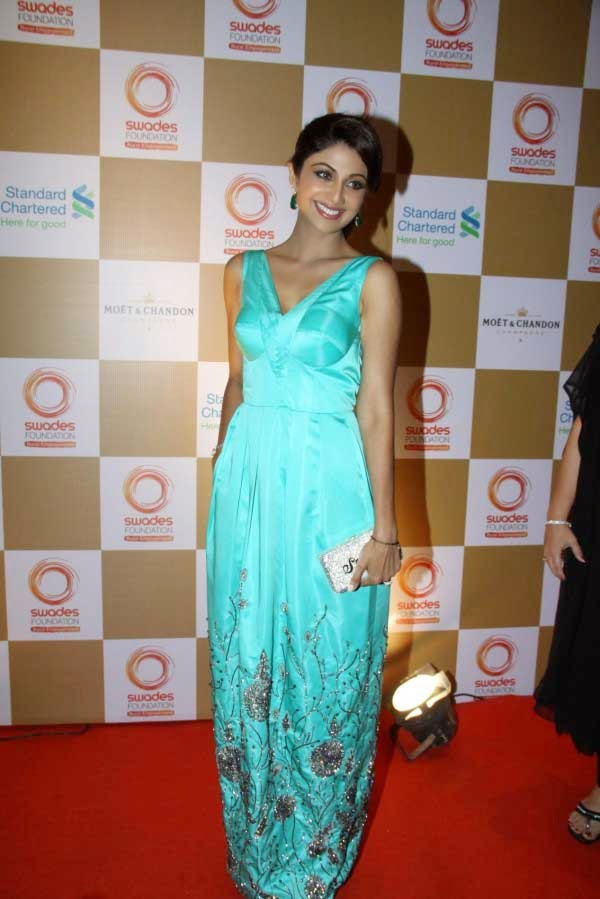 Shilpa Shetty at Swades Foundation Fundraiser show