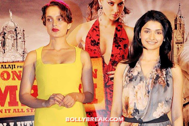 prachi desai with kangana Ranaut -  Prachi Desai unseen photos- part 2