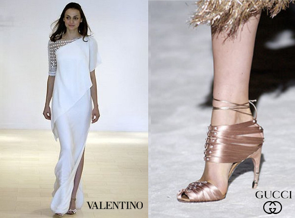 Princess Mette-Marit's VALENTINO Gown - Resort 2008 and GUCCI Shoes