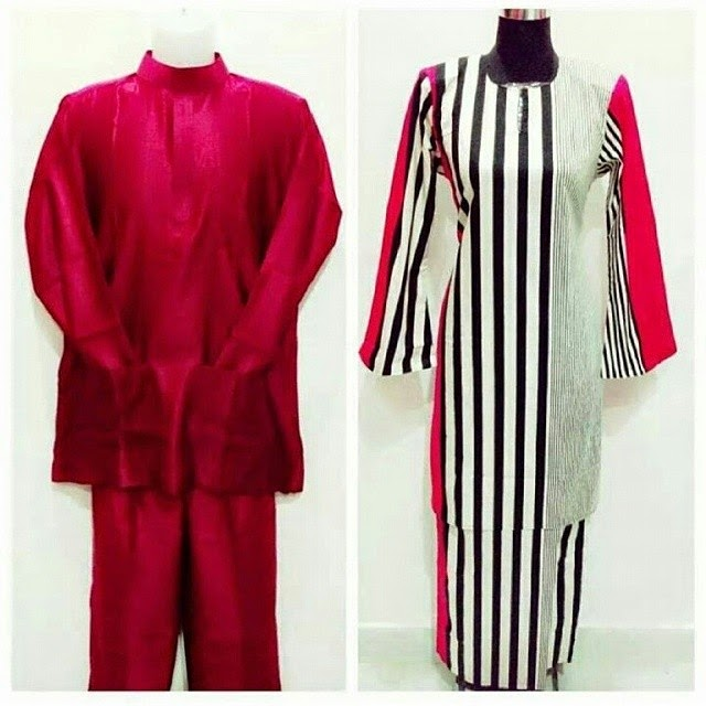 Agen Baju Sedondon Baju Raya Set Couple 2015