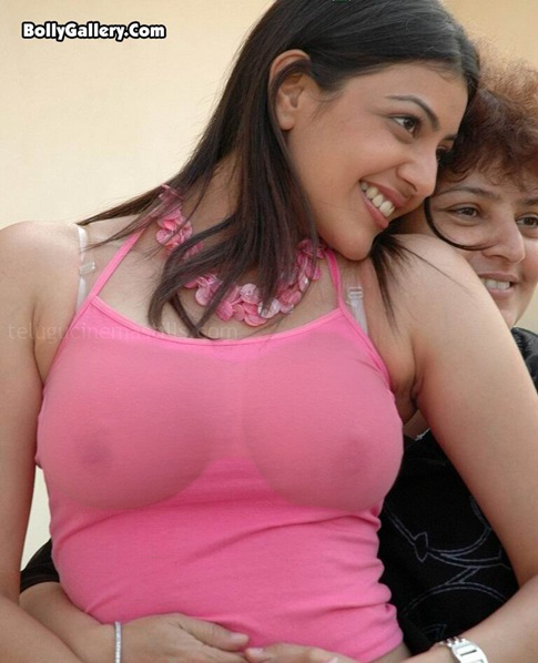 nude Kajal agarwal boobs