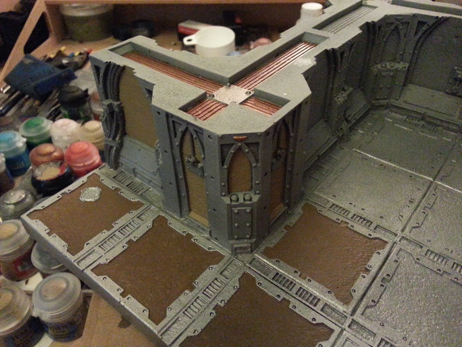 Wargamer 40k craziness in the zone with zone mortalis for Balthasar floors