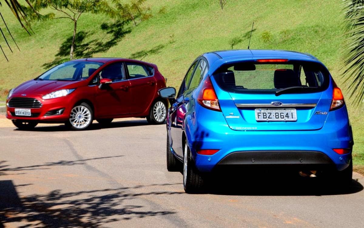 Ford Fiesta hatch 2014 automatico