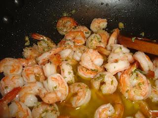 shrimp scampi (p. 386)