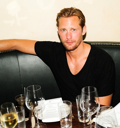 True Blood: Alexander Skarsgard – The Last Magazine and Ebay launch party  (10/09/ 2013)