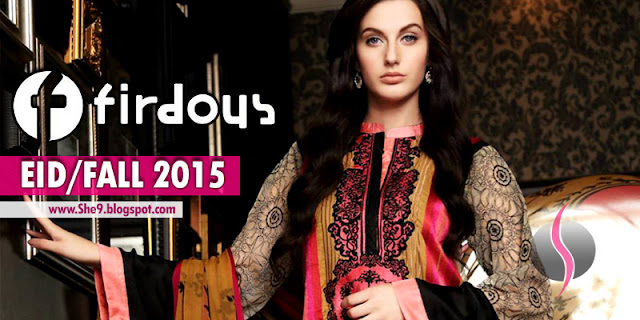 Firdous Eid Festive Collection 2015