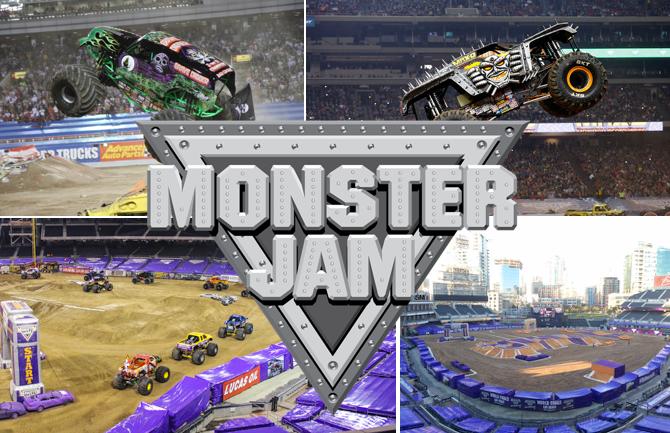 Monster Jam Takes Over Petco Park On February 6