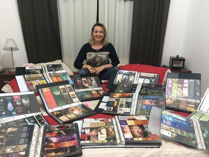 Michele Rodrigues- Marcadores de páginas